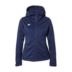 4F Sportovní bunda  námořnická modř / bílá
