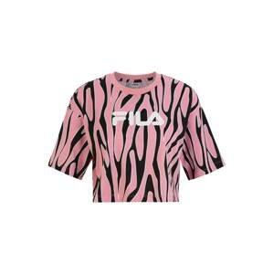 FILA Tričko 'EPONA'  růžová / bílá / černá