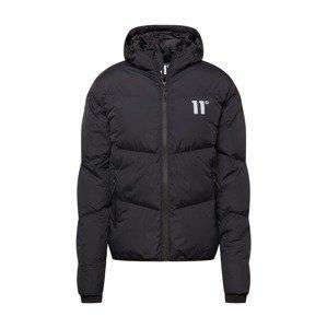 11 Degrees Přechodná bunda  černá / bílá