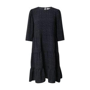 Lollys Laundry Šaty 'Lani'  černá / modrá