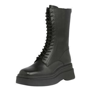 VAGABOND SHOEMAKERS Šněrovací boty 'CARLA'  černá