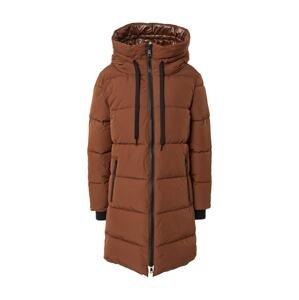 Rich & Royal Zimní kabát  hnědá