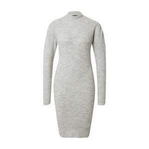 PIECES Úpletové šaty 'CANA'  šedá