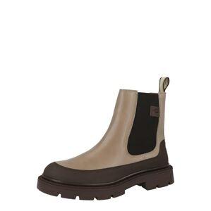 CAMEL ACTIVE Chelsea boty  šedobéžová / černá