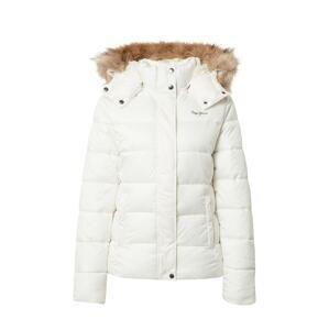 Pepe Jeans Zimní bunda 'JUNE'  bílá