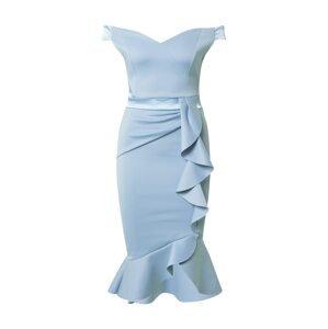 Lipsy Koktejlové šaty  světlemodrá