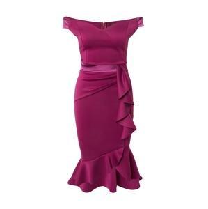 Lipsy Koktejlové šaty 'Bardot'  bobule