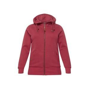Ragwear Plus Mikina s kapucí 'NESKA'  fialová
