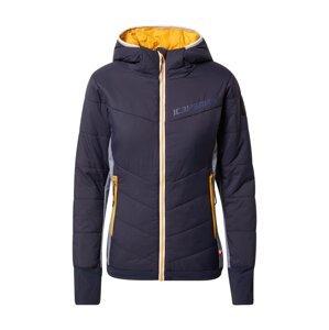 ICEPEAK Outdoorová bunda 'DAGSPORO'  marine modrá / limone / šedý melír