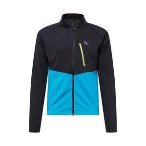 ZIENER Sportovní bunda 'Nabucco'  tyrkysová / černá / žlutá