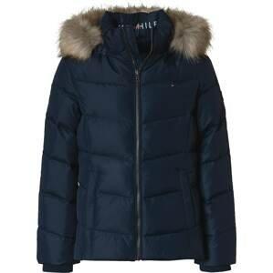 TOMMY HILFIGER Zimní bunda  modrá
