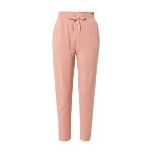 SCHIESSER Pyžamové kalhoty  starorůžová