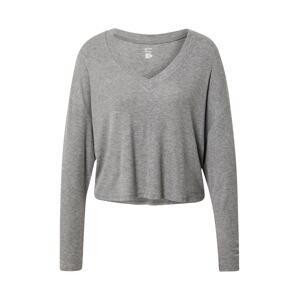 Gilly Hicks Tričko na spaní  šedý melír