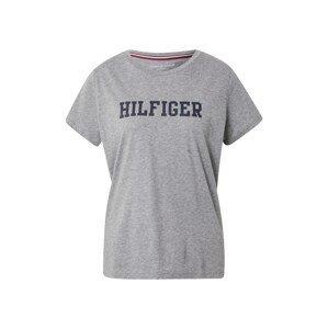 Tommy Hilfiger Underwear Tričko na spaní  šedá / tmavě modrá