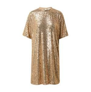 BOSS Casual Koktejlové šaty 'Esenni'  zlatá