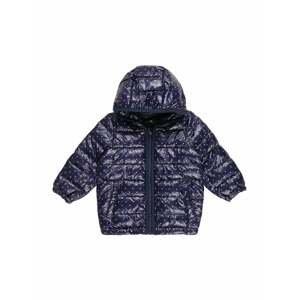 UNITED COLORS OF BENETTON Zimní bunda  námořnická modř / bílá