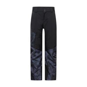 ZIENER Outdoorové kalhoty 'Tolosa'  černá / tmavě šedá