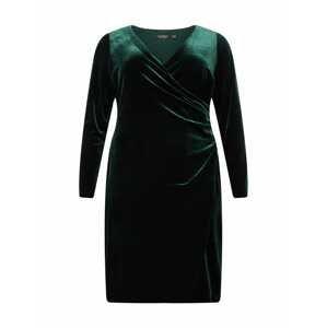 Lauren Ralph Lauren Koktejlové šaty 'TORELANA'  tmavě zelená