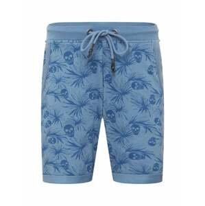 Key Largo Kalhoty 'WOLFGANG'  modrá / kouřově modrá