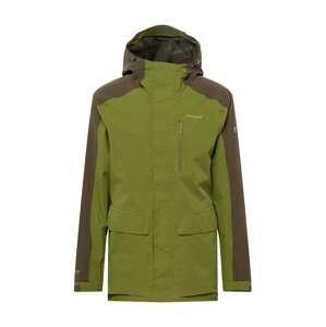 CRAGHOPPERS Outdoorová bunda 'Lorton'  olivová / brokátová