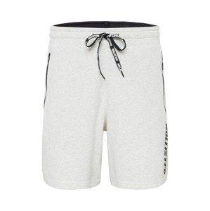 HOLLISTER Kalhoty  světle šedá / černá