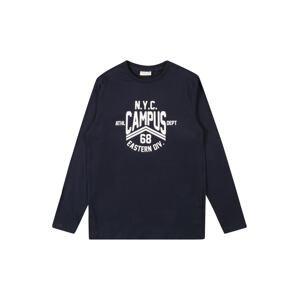 OVS Tričko  námořnická modř / bílá
