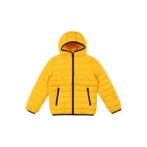 OVS Přechodná bunda  žlutá / černá