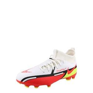 NIKE Sportovní boty  bílá / červená / svítivě žlutá / černá