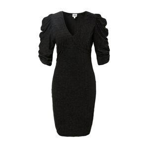 Twist & Tango Koktejlové šaty  černý melír