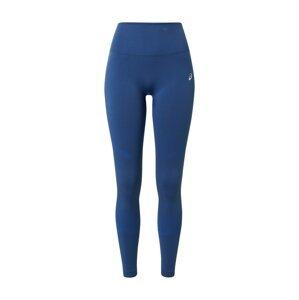 ASICS Sportovní kalhoty 'SEAMLESS'  modrá / světle šedá / svítivě modrá