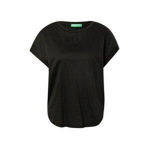 UNITED COLORS OF BENETTON Tričko  černá