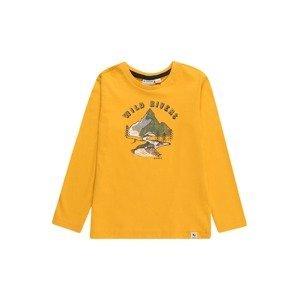 GARCIA Tričko  zlatě žlutá / námořnická modř / bílá / khaki