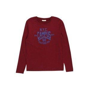 OVS Tričko  tmavě červená / královská modrá