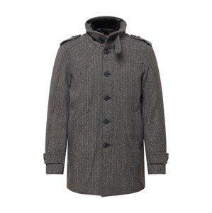 SELECTED HOMME Přechodný kabát 'NOAH'  šedá / černá