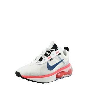 Nike Sportswear Tenisky 'AIR MAX'  bílá / černá / modrá / lososová