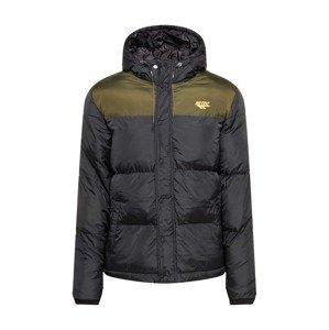 HI-TEC Outdoorová bunda 'COBBS'  černá / olivová
