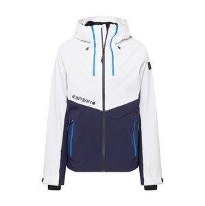 ICEPEAK Outdoorová bunda 'DASSOW'  bílá / tmavě modrá / nebeská modř