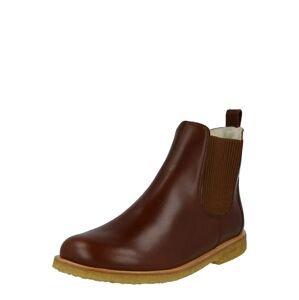 ANGULUS Chelsea boty  hnědá