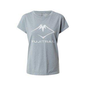ASICS Funkční tričko  šedá / bílá