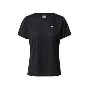 ASICS Funkční tričko 'KATAKANA'  černá / světle šedá