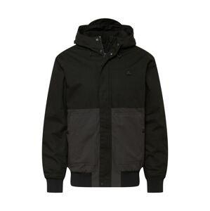 RIP CURL Outdoorová bunda  černá / tmavě šedá