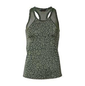HKMX Funkční tričko  zelená / khaki
