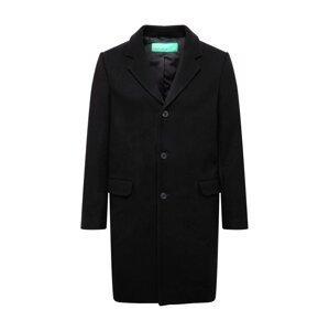 UNITED COLORS OF BENETTON Přechodný kabát  černá
