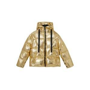Desigual Přechodná bunda  zlatě žlutá