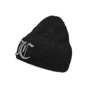 Juicy Couture Čepice  černá / bílá