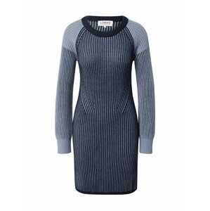 LOOKS by Wolfgang Joop Úpletové šaty  indigo / kouřově modrá