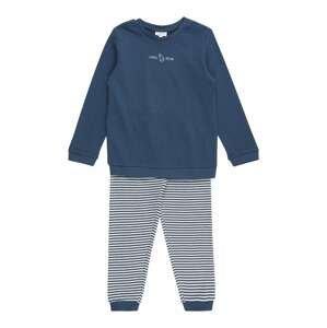 OVS Pyžamo  chladná modrá / bílá