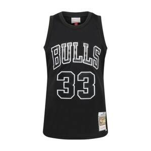 Mitchell & Ness Tričko  černá / bílá