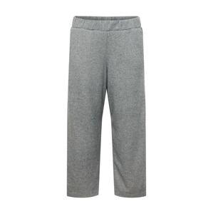 MY TRUE ME Kalhoty  šedý melír