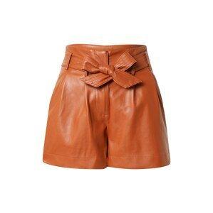 Pimkie Kalhoty se sklady v pase 'VILLE'  koňaková
